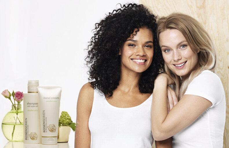 Rosenserien - Ekologisk hudvård. Naturlig skönhet