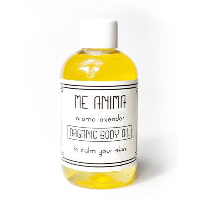 Me Anima lavendel kroppsolja återfuktar och mjukgör din hud