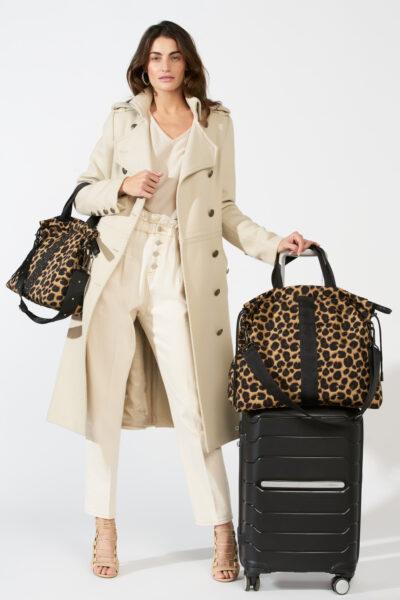 ACE Travel bag leopard print